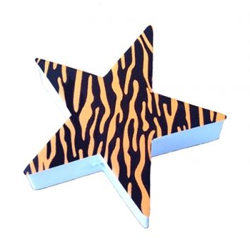 Star Tiger Tan Antenna Topper