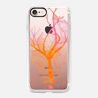 orange tree with geometry iPhone 7 Carcasa by Marianna | Casetify