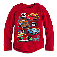 Cars Long Sleeve Thermal Tee for Boys | Disney Store