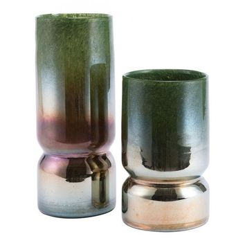 A11223 Moss Large Vase Green
