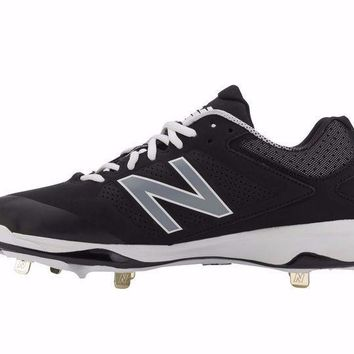 MDIGON new balance 4040v3 metal cleats low cut black