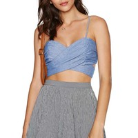 Nasty Gal All Tied Up Crop Top