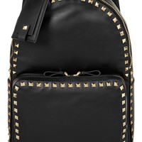 Valentino - The Rockstud medium leather backpack