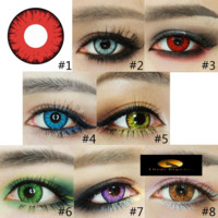Crazy Color Bold Fashion Contact Lenses
