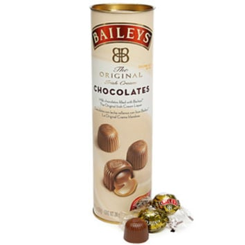 Bailey's Irish Cream Liquor Filled Chocolates: 20-Piece Tube