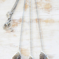 AMERICAN INDIAN ➳ CHEIF SILVER NECKLACE