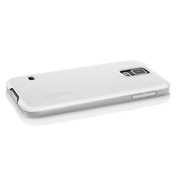 The White feather® SHINE Ultra-Thin Case with Aluminum Finish for Samsung Galaxy S5