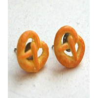 Pretzels Stud Earrings