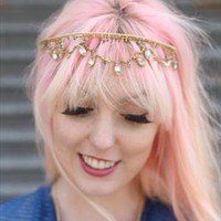 1970's Gold Festival Crown from Bohemianrose vintage