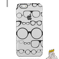 Trendy Glasses iPhone SE Clear Case Glasses iPhone 6 plus Transparent Phone Case Samsung Note 5 Clear Case Hipster Samsung S6 edge plus case