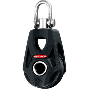 Ronstan Series 30 Ball Bearing Orbit Block™ - Single - Becket - Swivel Shackle Head