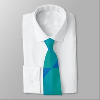 triangle colored abstract tie