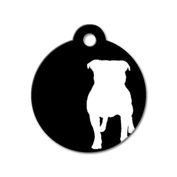 Pitbull - Silhouette Pet Tag