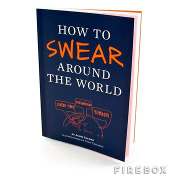 How To Swear Around The World | Firebox.com - Shop for the Unusual
