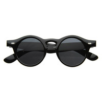 Dapper Vintage 1920's Inspired Round Key Hole Sunglasses 8250