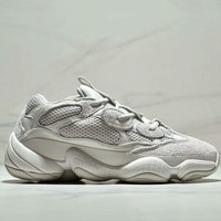 ADIDAS YEEZY DESERT RAT 500 2018 new casual sports old shoes F-CSXY white