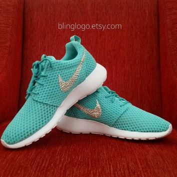 Bling Nike Shoes - Nike Roshe Run Shoes With Swarovski Crystal Rhinestones - Bling Nik