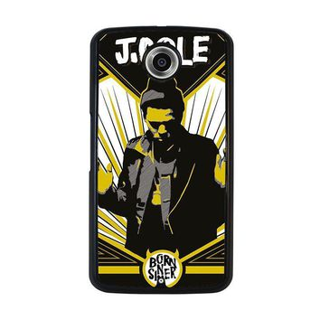 j cole born sinner nexus 6 case cover  number 3