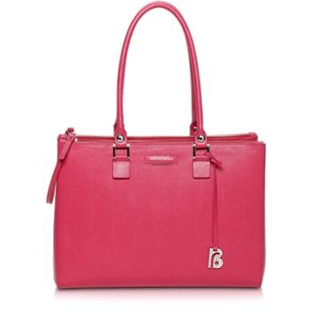 Francesco Biasia Designer Handbags Kilburn Saffiano Leather Tote