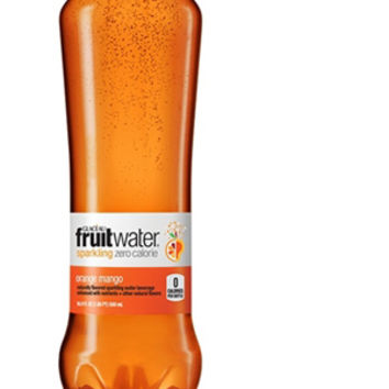 Glaceau Fruit Water Orange Mango 16.9 oz Bottles - Case of 12