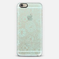 lovely mosaic garden iPhone 6 case by Julia Grifol Diseñadora Modas-grafica | Casetify