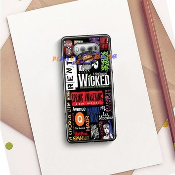 Broadway Musical Collage LG V20 Planetscase.com