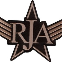 Red Jumpsuit Apparatus (RJA) Iron-on Patch - Wings
