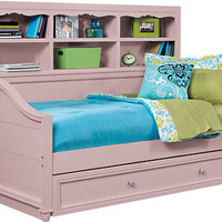 Gabriella Lavender Bloom 3 Pc Bookcase Daybed