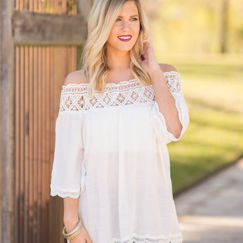 Sun Kissed Off Shoulder Top