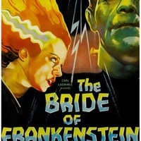 The Bride of Frankenstein Movie Poster 11x17