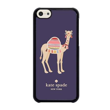 KATE SPADE APPLIQUE CAMEL iPhone 5C Case Cover