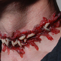 Halloween JewelryHorror  Necklace  Zombie  Jewelry  by VonErickson