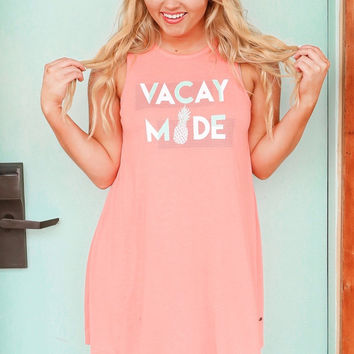 Jadelynn Brooke: Vacay Mode Swim Suit Cover Up {Coral}