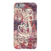 Floral Namaste Script Barely There iPhone 6 Case