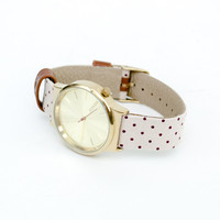 Wizard Print Series Polkadot Sands Watch