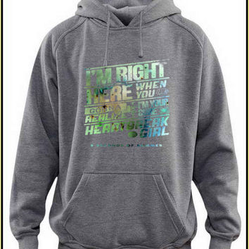 im right custom crewneck hoodie for unisex