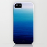 blue iPhone & iPod Case by FindsFUNDSTUECKE