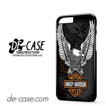 Harley Davidson Motorcycle Eagle Logo DEAL-5048 Apple Phonecase Cover For Iphone 6 / 6S