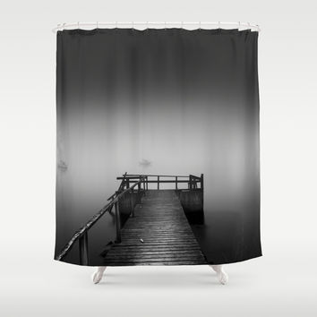 Ghost sailors Shower Curtain by HappyMelvin
