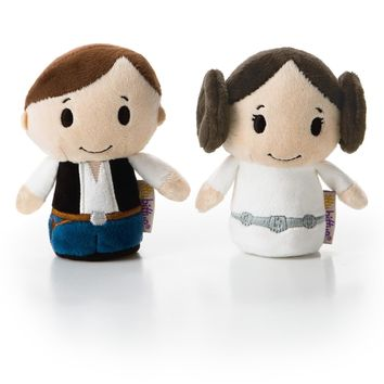 itty bittys® HAN SOLO™ and PRINCESS LEIA™ Stuffed Animals