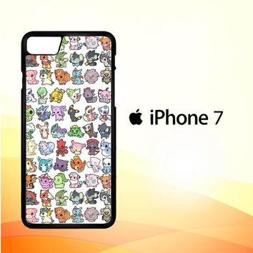 Pattern Pokemon O0061 iPhone 7 Case
