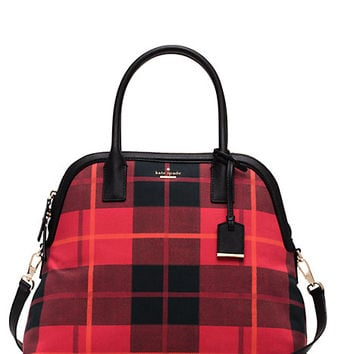 Kate Spade Cameron Street Fabric Mega Margot Cherry Liqueur Multi ONE