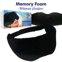 Heat-Sensitive Remedy  Memory Foam Sleep Mask
