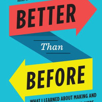 Better Than Before: Mastering the Habits of Our Everyday Lives by Gretchen Rubin (Bargain Books)