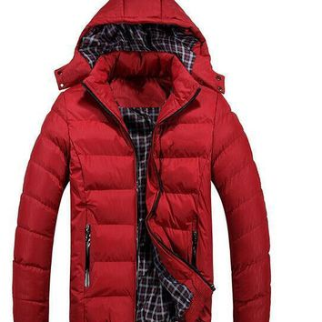 Men's Parkas Winter outdoors sports