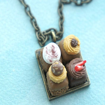 Brownie Sampler Necklace