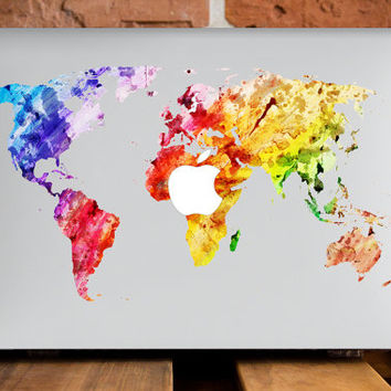 MacBook Pro Case MacBook Pro Retina 13 Case Mac Book Air 11 Case Mac Laptop Case Macbook Hard Case Travelling Gears Plastic Cover World Map