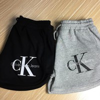 """Calvin Klein"" Women Casual Strappy Shorts"