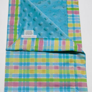 Small baby blanket,Lovey Blanket,Minky Security Blanket,Blanket,Baby Lovey,New Baby ,Minky Blanket,Baby Shower Gift,Toddler Blanket