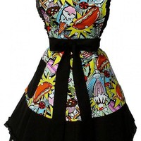Hemet Sweet Snacks 50s Rockabilly Dress Apron
